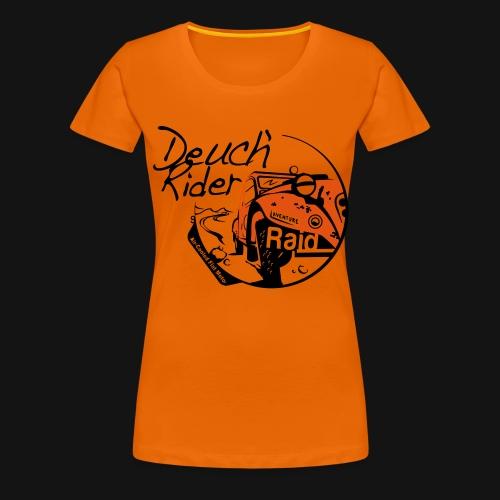Deuch' Rider Raid 2C - T-shirt Premium Femme