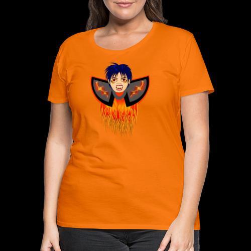 vampire en flamme - T-shirt Premium Femme