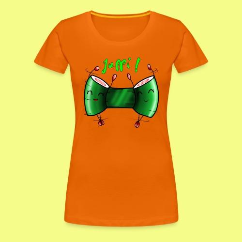Sushi rollen - Frauen Premium T-Shirt
