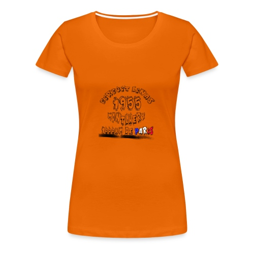 Les anciennes courses automobile - T-shirt Premium Femme
