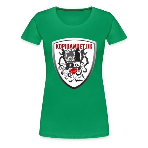 KopiBandet.DK Våbenskjold - Dame premium T-shirt