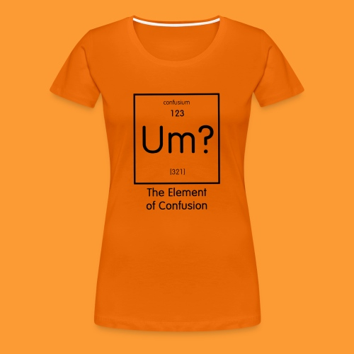 element of confusion - Women's Premium T-Shirt