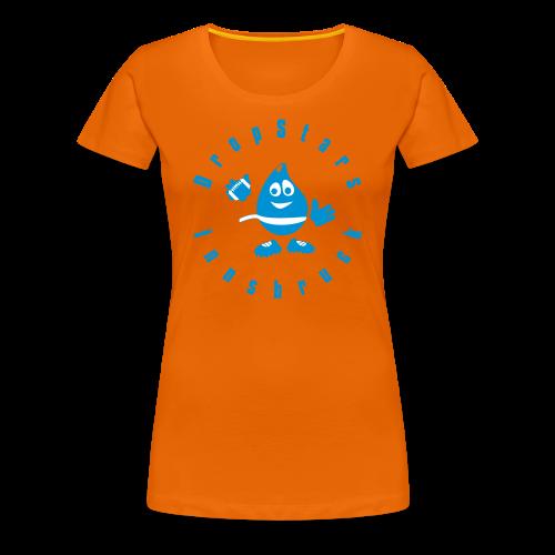 Logo DropStars Innsbruck Droppy - Frauen Premium T-Shirt