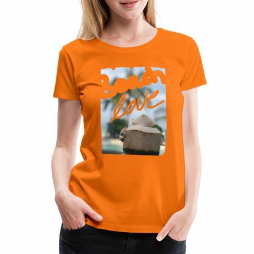 Beach Love & Coco - Frauen Premium T-Shirt