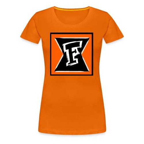 Logo Farbe - Frauen Premium T-Shirt