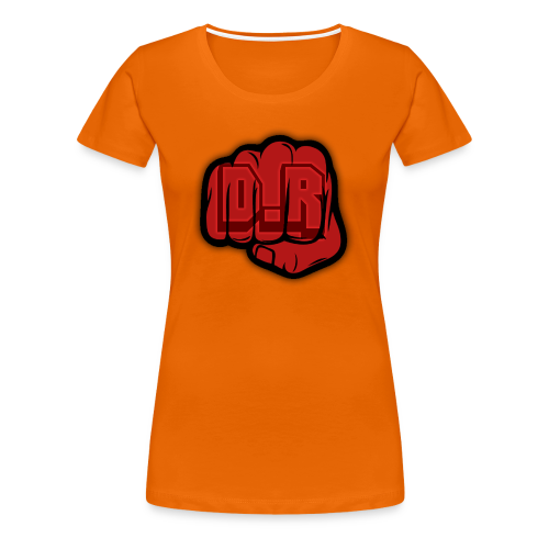 DigitalRelic Big Fist Logo - Premium-T-shirt dam