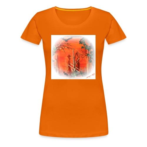 In der Zukunft mod1 - Frauen Premium T-Shirt
