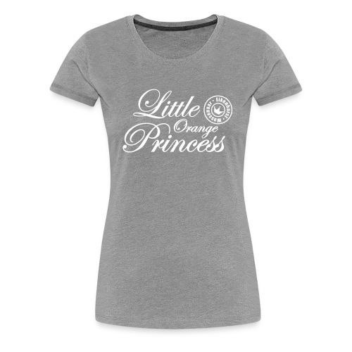 Little Orange Princess - Vrouwen Premium T-shirt