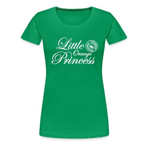 Little Orange Princess - Vrouwen Premium T-shirt