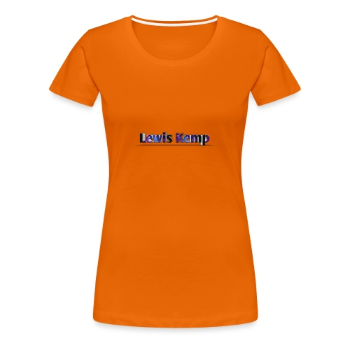Lewis Kemp new name - Women's Premium T-Shirt