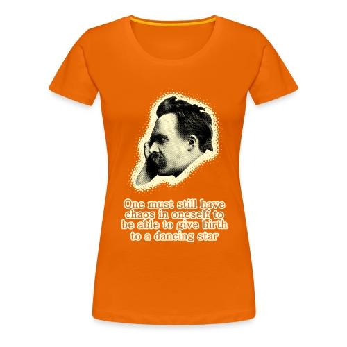 Nietzsche Meme - Women's Premium T-Shirt