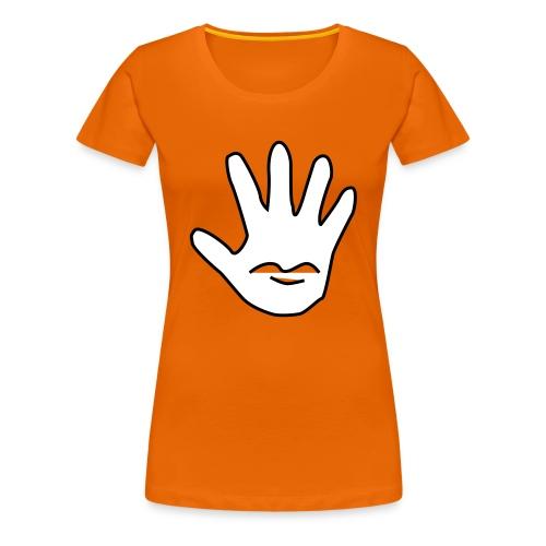 Talk to the Hand - Premium T-skjorte for kvinner