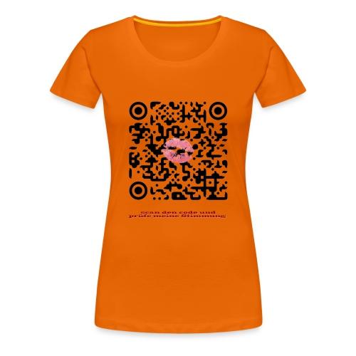 Stimmungsbarometer - Frauen Premium T-Shirt