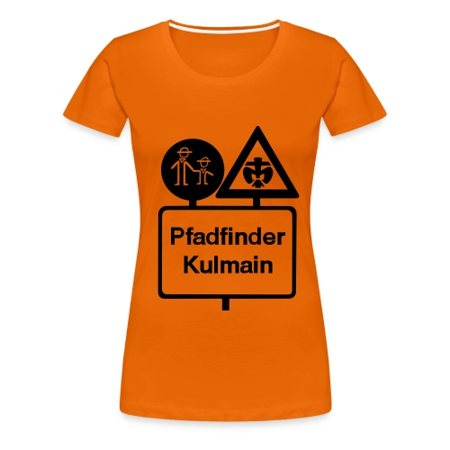285 cm stammeslogo sw vektor - Frauen Premium T-Shirt