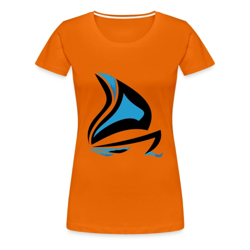 Les Férus de voile et moteur - T-shirt Premium Femme