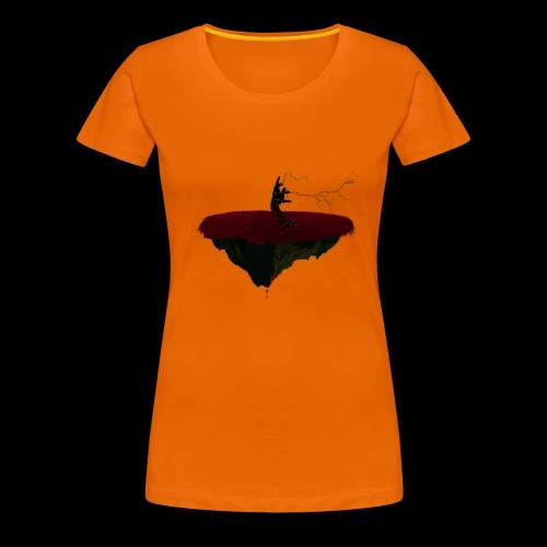 Main de l'enfer démoniaque. - T-shirt Premium Femme