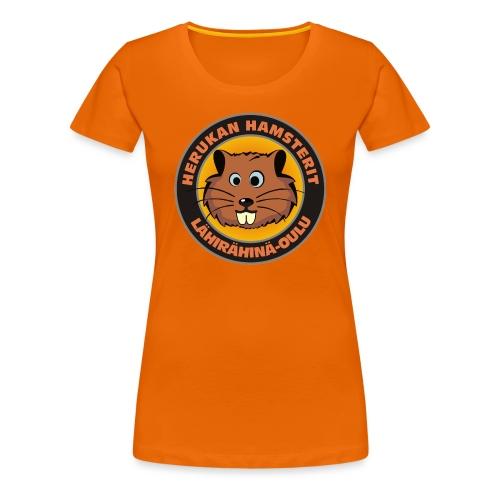 Herukan Hamsterit - Naisten premium t-paita