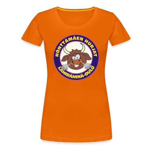 Hönttämäen hurjat - Naisten premium t-paita