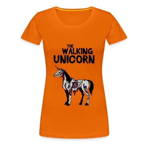 thewalkingUnicorn - Frauen Premium T-Shirt