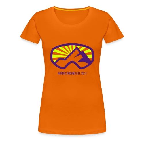 Nordic skibums sunrays - Women's Premium T-Shirt
