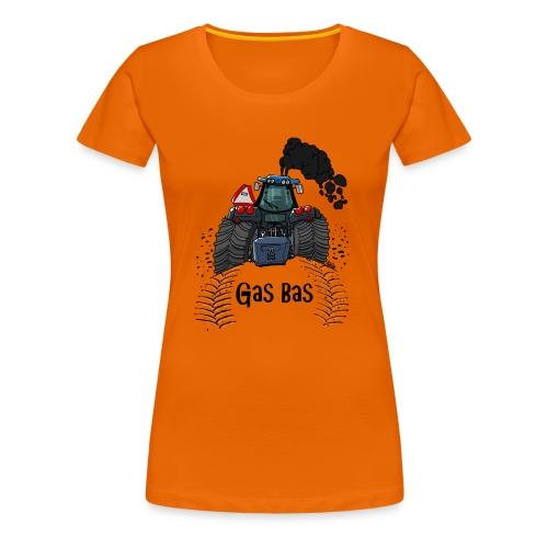 908 NH GasBas - Vrouwen Premium T-shirt