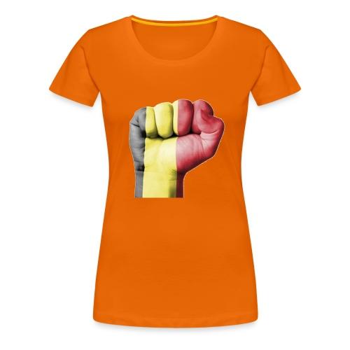 La résistance Belge - T-shirt Premium Femme