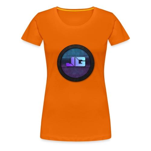 shirt met logo - Vrouwen Premium T-shirt