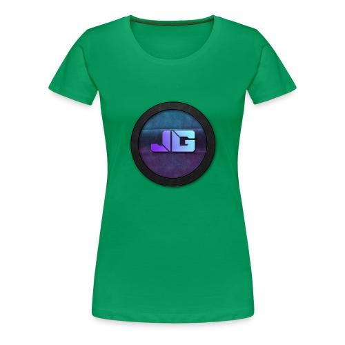 Trui met logo - Vrouwen Premium T-shirt