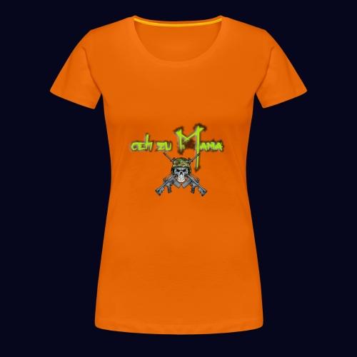 geh zu Mama - Frauen Premium T-Shirt