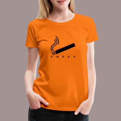 smoke - Frauen Premium T-Shirt