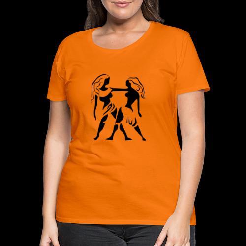 STERNZEICHEN ZWILLING - Frauen Premium T-Shirt