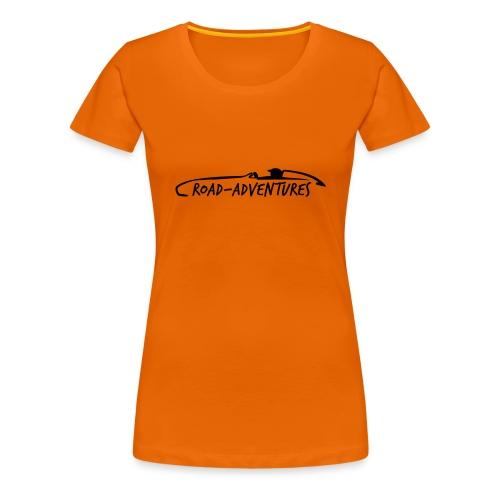 RoadAdventures - Frauen Premium T-Shirt