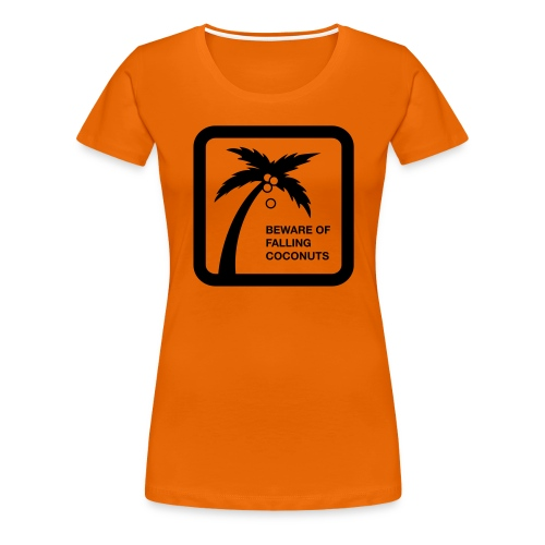 Falling Coconut - Frauen Premium T-Shirt
