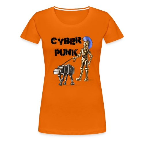 cyberpunk - Maglietta Premium da donna