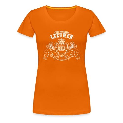 Brullende leeuwen - Vrouwen Premium T-shirt