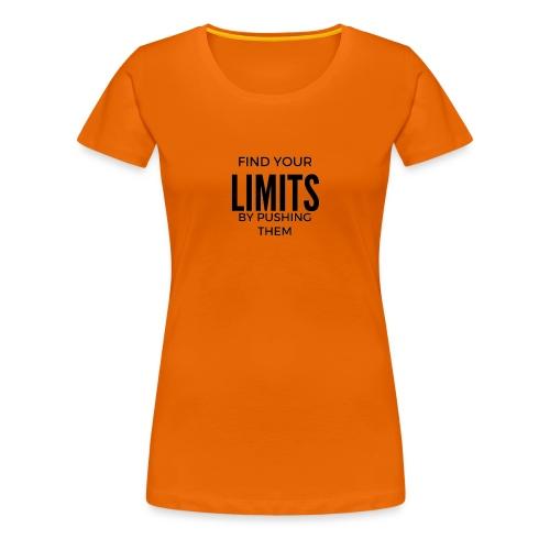 findyourlimit final - Frauen Premium T-Shirt