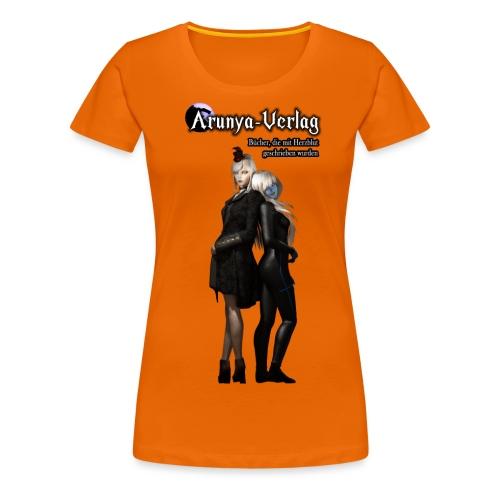 verlag - Frauen Premium T-Shirt