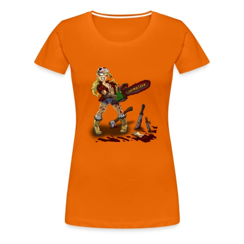 Chainsaw Girl - Classic Women's T-shirt - Women's Premium T-Shirt