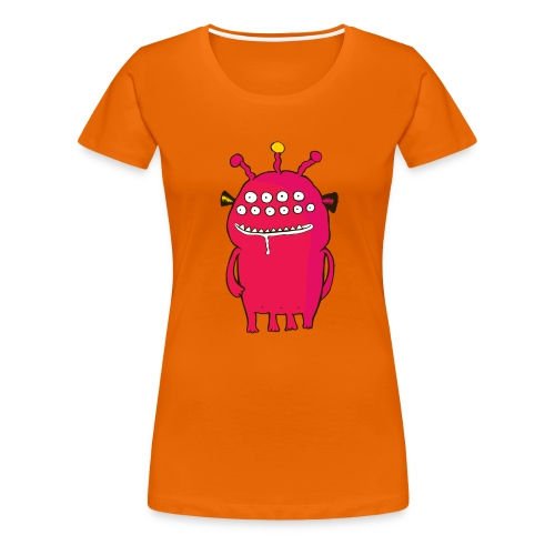 Alienating... (monster #1) - Women's Premium T-Shirt