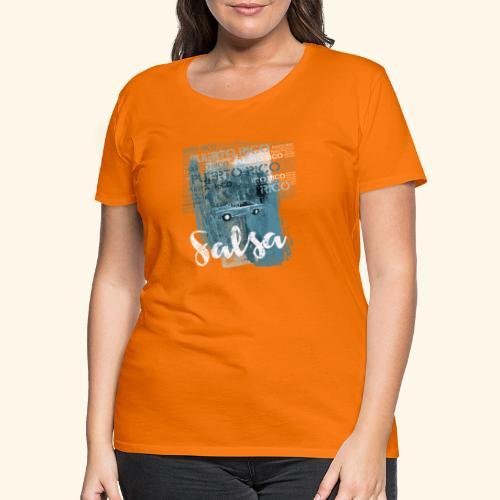 Salsa dance Puerto Rico gift T-shirt - Women's Premium T-Shirt