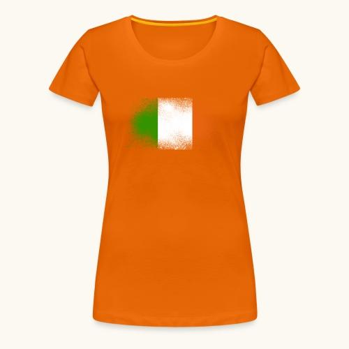 Irland Grunge irische Flagge lustig Geschenk Ire - T-shirt Premium Femme