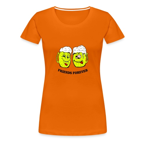 Beer Friends Forever T Shirt - Women's Premium T-Shirt