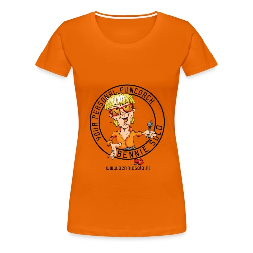 your personal funcoach - Vrouwen Premium T-shirt