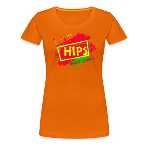 hipsplash - Dame premium T-shirt