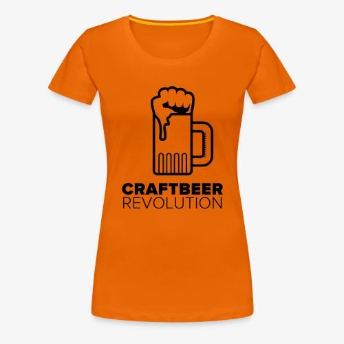 Craftbeer Revolution - Frauen Premium T-Shirt