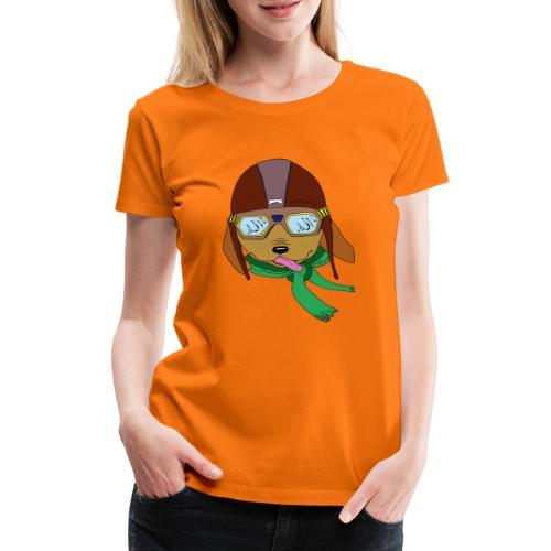 Falc le chien aviateur - T-shirt Premium Femme