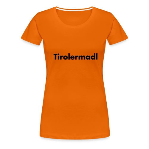 tirolermadl - Frauen Premium T-Shirt