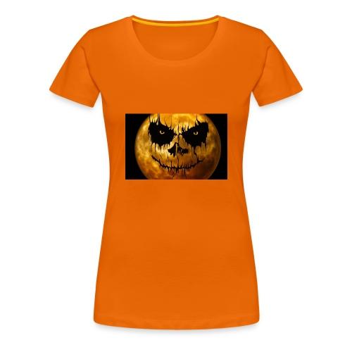 Halloween Mond Shadow Gamer Limited Edition - Frauen Premium T-Shirt