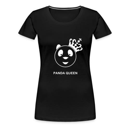 shirt pandaqueen II wit gif - Vrouwen Premium T-shirt