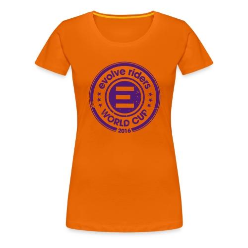 World Cup 2016 Evolve - T-shirt Premium Femme